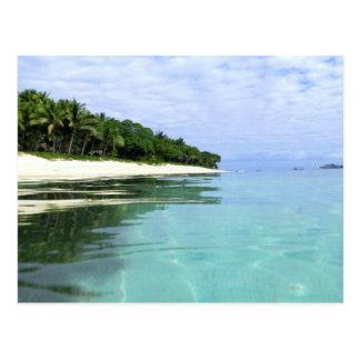 Fiji Mamanuca Islands Postcard