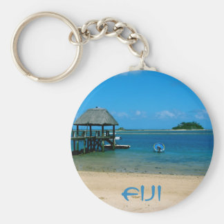 Fiji - Paradise Found on Malolo Island Keychain