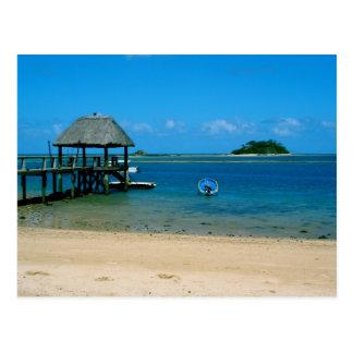 Fiji - Paradise Found on Malolo Island Postcard