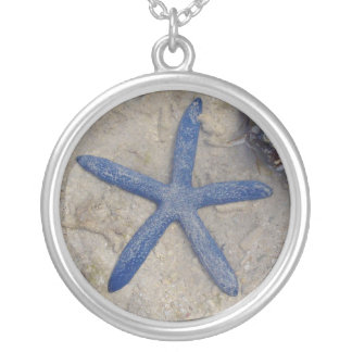 Fiji Seastar (Starfish) Silver Plated Necklace