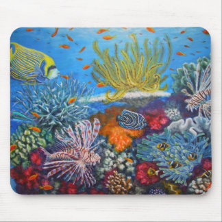 Fiji soft reef mouse pad