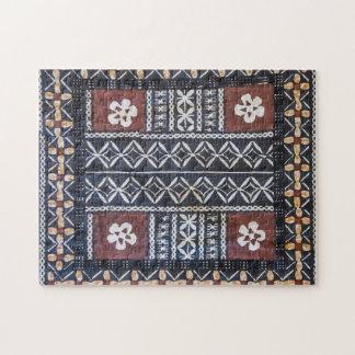 Fiji Tapa Cloth Print Puzzle