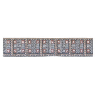Fiji Tapa Cloth Print Table Runner