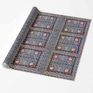 Fiji Tapa Cloth Print Wrapping Paper
