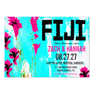 FIJI TWO Destination Invitation