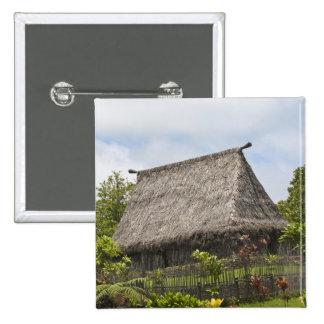 Fiji, Viti Levu Island. Polynesian Cultural 15 Cm Square Badge