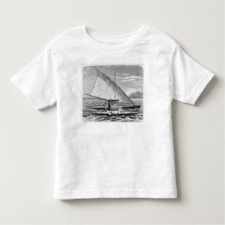 Fijian double canoe from The History of T Shirts