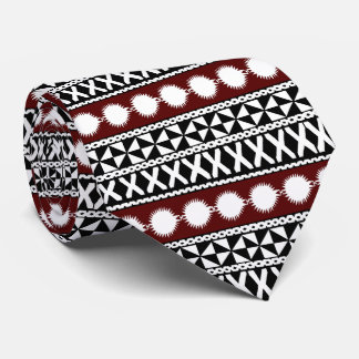 Fijian Masi Stripes Tie