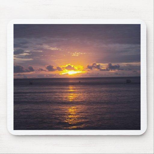 Fijiian Sunset Mousepad