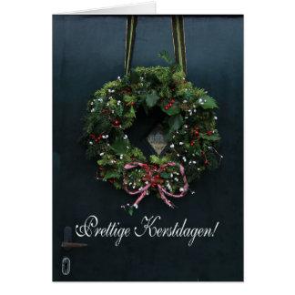 Fijne kerstdagen - Dutch Christmas Card