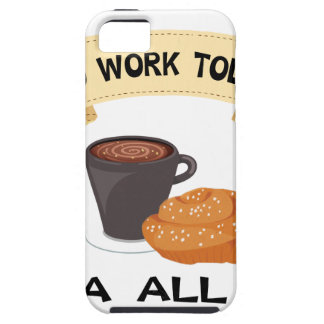 fika all day, no work today iPhone 5 case
