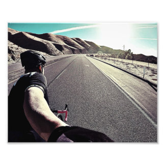 Fikeshot under the high desert sun. photo print