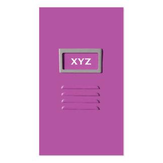 File Cabinet custom business cards