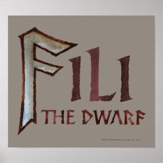Fili Name Poster