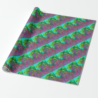 Filicinae Trees and Ferns Wrapping Paper