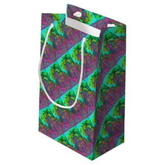 Filicinae  Trees Small Gift Bag