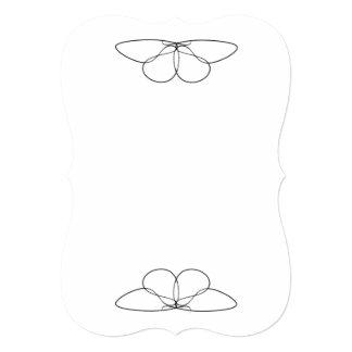 Filigree Butterfly Card