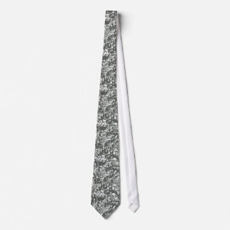 Filigree type design tie