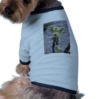 Filigreed Cactus Plant Doggie Tee Shirt