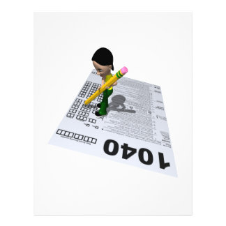 Filing Taxes 21.5 Cm X 28 Cm Flyer
