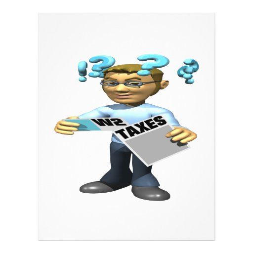Filing Taxes Flyers
