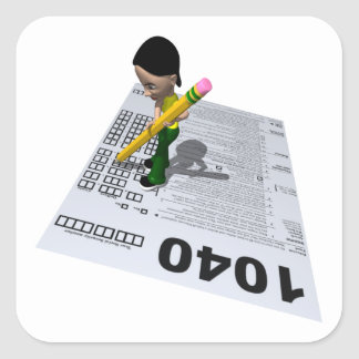 Filing Taxes Stickers