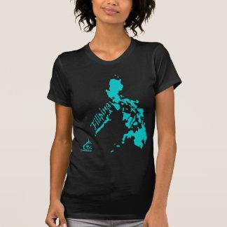 Filipina Philippine Islands Teal T-Shirt
