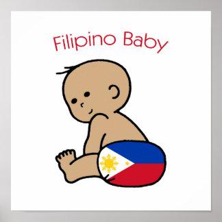 Filipino Baby Poster