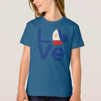 Filipino Blue LOVE T-Shirt