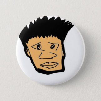 filipino boy  cartoon face collection 6 cm round badge