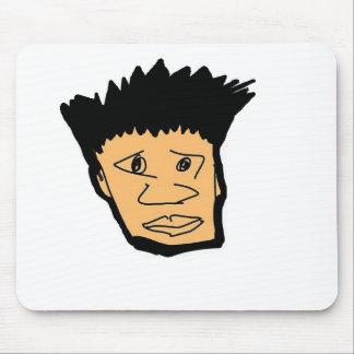 filipino boy  cartoon face collection mouse pad