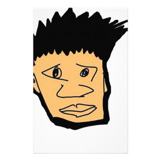 filipino boy  cartoon face collection stationery