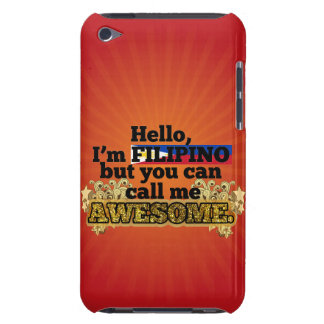 Filipino, but call me Awesome iPod Touch Case