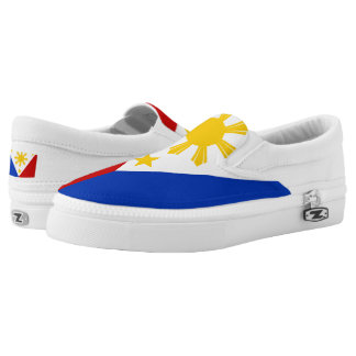 Filipino Flag Slip On-Shoes US-Women Printed Shoes