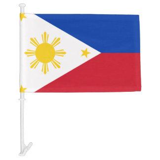 Filipino flag car flag