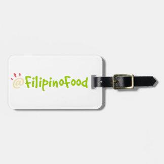 Filipino Food Luggage Tag