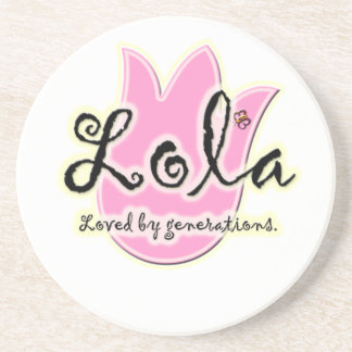 Filipino Lola Mother's Day Gift Beverage Coasters