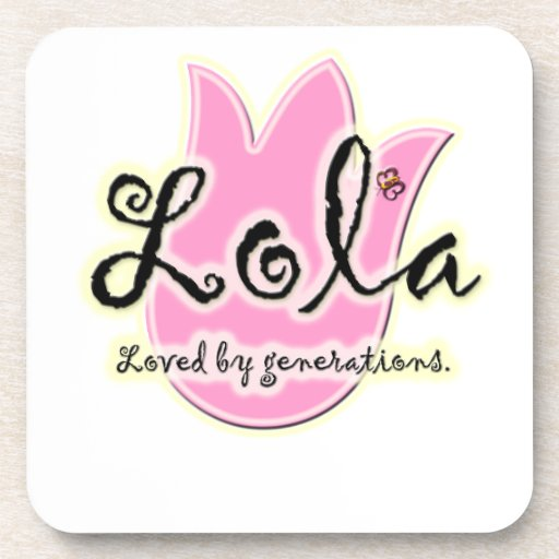 Filipino Lola Mother's Day Gift Coasters
