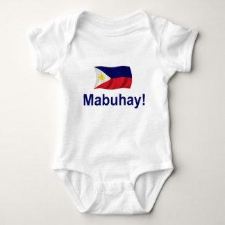 Filipino Mabuhay! Baby Bodysuit