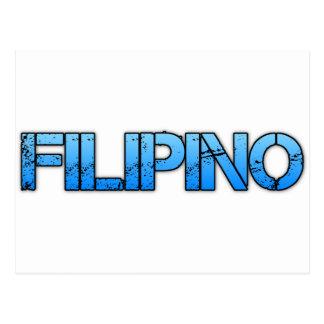 FILIPINO POSTCARD