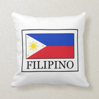 Filipino Throw Pillow