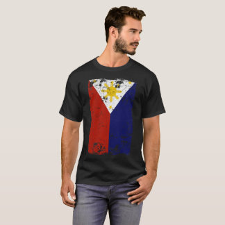 Filipino Vintage Distressed Philippines Flag T-Shirt