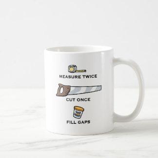 Fill Gaps Coffee Mugs