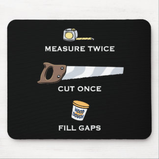 Fill Gaps Mouse Pad