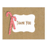 Fill in the Blank Holiday Kids Thank You  Postcard