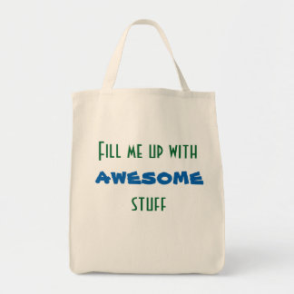 Fill me up with awesome stuff