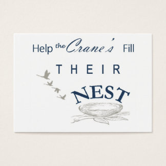 Fill the nest card