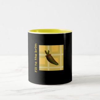 Fill to the brim Two-Tone mug