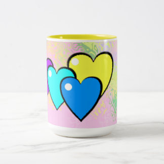 Filled Hearts ~ customizable mug for any occasion