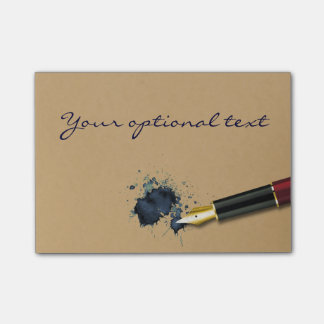Filler Fountain Pen with Ink Blot - Post-it® Notes